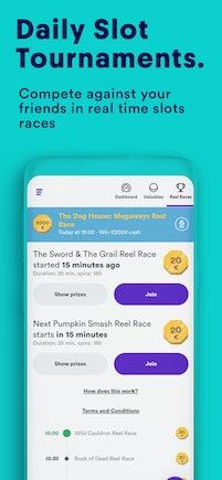 4- App screens races