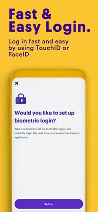 12- app screens fast & easy logins