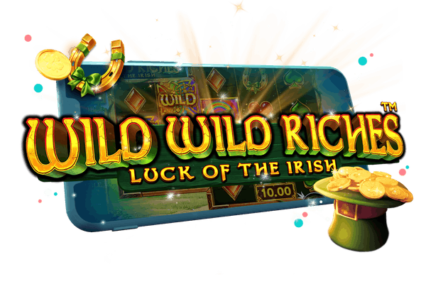 Wild Wild Riches Floating Image for Hero Banner