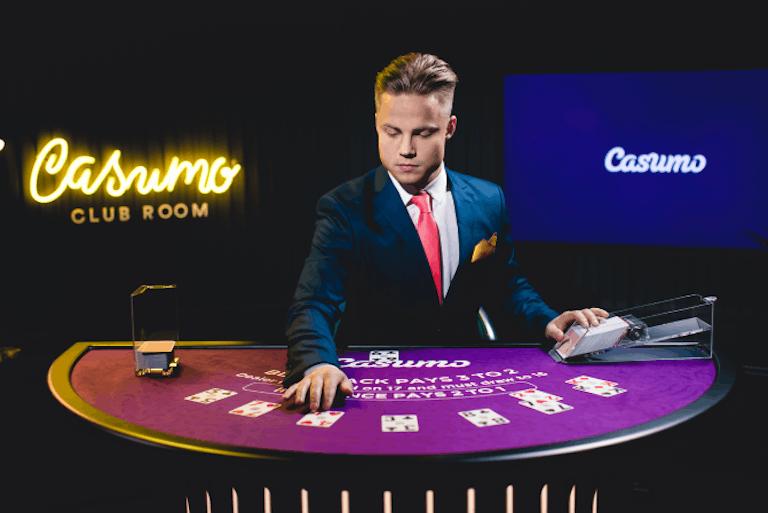blackjack club room