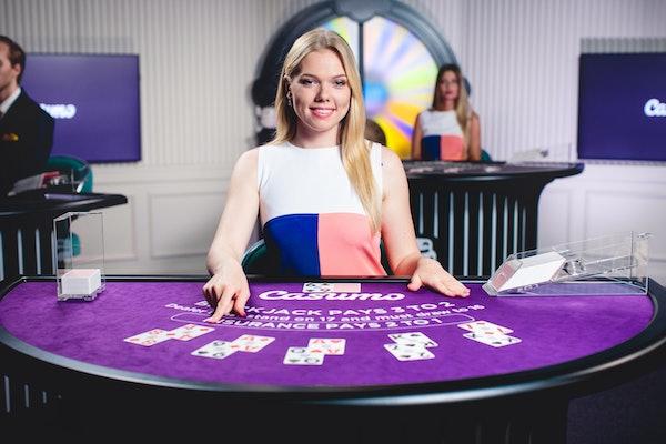 2018 june casumo live blackjack blonde dealer with cards 11701 1996 1