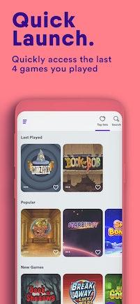 3 - app screens quick launch