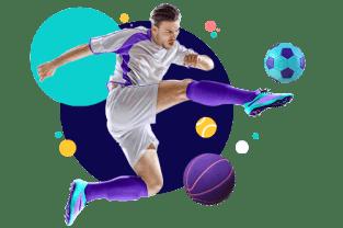 Hero module sports football